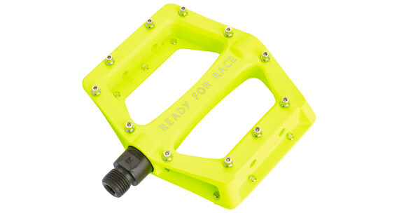 RFR CMPT Flat Pedal neon yellow